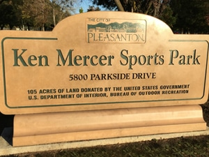 Ken Mercer Sports Park Sign