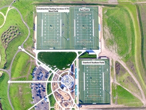 Patelco Sports Park arial view